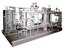 liquid fuel selection and filtration system
